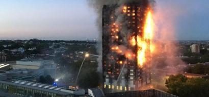 ارتفاع حصيلة ضحايا حريق لندن