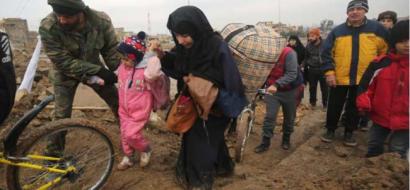 80 قتيلا من المدنيين بالقصف المتواصل على الموصل