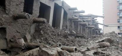 قتلى في انهيار مبنى بالصين