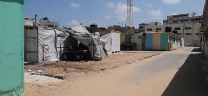 """خاص لـ""""وطن"""" بالفيديو : بعد إخلائه من الكرفانات .. ما مصير منتزه بلدية بيت حانون ؟"""