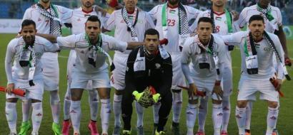 """المنتخب الفلسطيني يتقدم 22 مركزا في تصنيف """"الفيفا"""""""