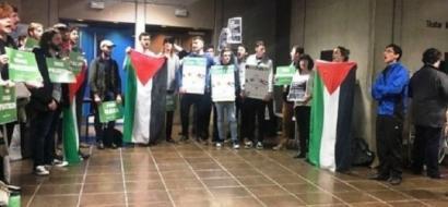 فيديو.. طلاب ايرلنديون يجبرون جامعتهم على إلغاء محاضرة للسفير الإسرائيلي