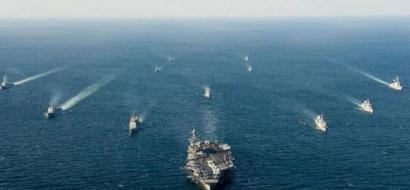مناورات أمريكية وكورية جنوبية في بحر اليابان