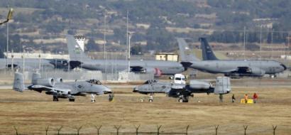 تركيا غاضبة على واشنطن وتهدد باغلاق قاعدة  انجرليك