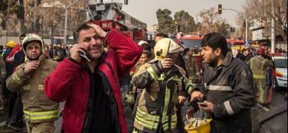 إصابة 43 إيرانياً في حريق داخل فندق