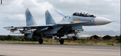 مواجهة بين مقاتلات أمريكية وروسية في سوريا