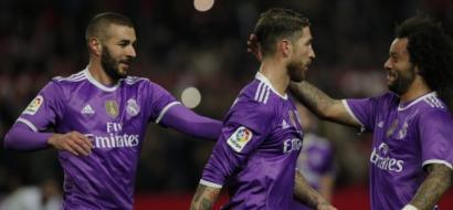 ريال مدريد يحطم رقم برشلونة بتعادل مثير مع إشبيلية