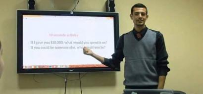"""خاص لـ""""وطن"""" بالفيديو .. نابلس : ابتكار التطبيق الأول عربياً لجمع وتحليل البيانات"""