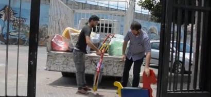 """خاص لـ""""وطن"""" بالفيديو .. مبادرة تجميل مدينة نابلس بدأها متطوعون واسندهم المتبرعون"""
