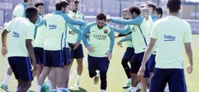 """برشلونة ينهي استعداداته لموقعة """"الكلاسيكو"""""""