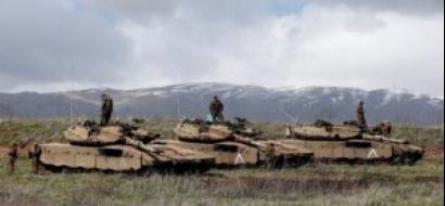 جيش الاحتلال يقصف موقعًا للجيش السوري في القنيطرة