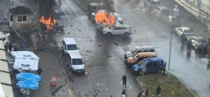 صور .. انفجار يهز مدينة إزمير غرب تركيا