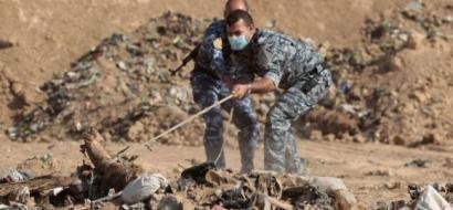العراق:العثور على مقبرة جماعية جديدة غرب بغداد