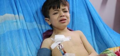 """خاص لـ""""وطن"""": بالفيديو.. غزة: """"أطفال الفشل الكلوي"""".. معاناة المرض وصعوبة السفر"""