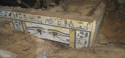 اكتشاف مقبرة مصرية جديدة قد تحوي جثة فرعون غير معروف