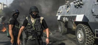 مقتل خمسة من قوات الأمن المصرية بانفجار مدرعة في سيناء