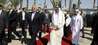 الازمة القطرية قد تتسبب بخلق مشكلة اضافية لحركة حماس المحاصرة