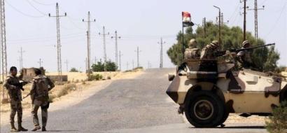 الجيش المصري يحبط هجوما في سيناء