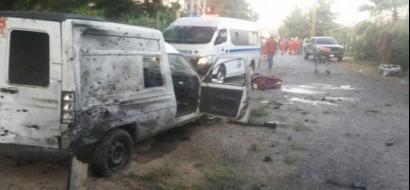 3 تفجيرات انتحارية بالقرب من مركز قيادة شرطة دمشق