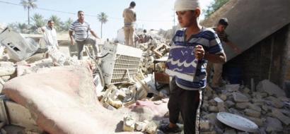 طيران مجهول يقتل ويصيب 13 شخصا بقصف منازل مدنيين  غرب العراق