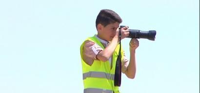 """خاص لـ """"وطن"""": بالفيديو.. الخليل: """"عابدين"""" الطفل المصور.. من بين ثنايا العدسة لطموح دراسة الإعلام"""