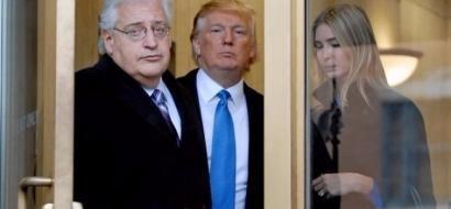 """السفير الأمريكي في إسرائيل """"يشكك"""" في حل الدولتين"""