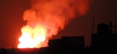 جيش الاحتلال يقصف في هضبة الجولان
