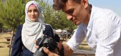 """خاص لـ""""وطن"""" بالفيديو .. """"كشك صورة"""" يوثق اللحظات السعيدة في المتنزهات والأماكن العامة"""