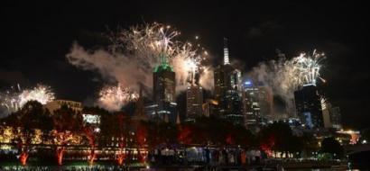 أستراليا احتفلت بالعام الجديد بـ10 أطنان من الألعاب النارية