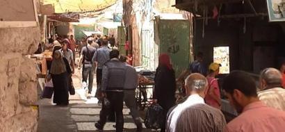 """خاص لـ""""وطن"""" بالفيديو .. رمضان الخير يحيي أسواق البلدة القديمة في الخليل"""