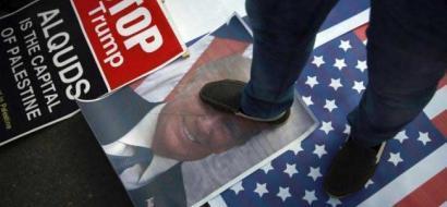 المظاهرات تتواصل في الولايات المتحدة احتجاجا على قرار ترامب بشأن القدس