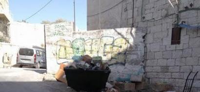 """خاص لـ""""وطن"""": بالفيديو.. تراكم النفايات بمناطق في بيت لحم يشوه مظهرها الحضاري"""