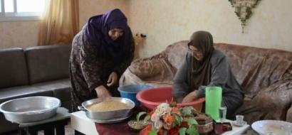 """خاص لـ""""وطن"""" بالفيديو .. سلفيت: المفتول أكلة شعبية ومصدر دخل لنساء دير بلوط"""