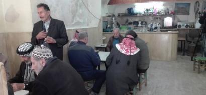 """خاص لـ""""وطن"""": بالفيديو.. قهوة بدران.. 200 عام ملتقى الرجال في الخليل القديمة"""