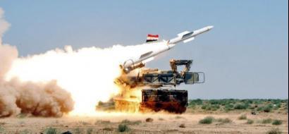 الجيش السوري يعلن اسقاط طائرة اسرائيلية داخل فلسطين المحتلة