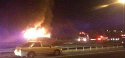 انفجارات في مدينة ايلات بعد دوي صفارات الانذار