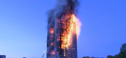 """شهادات ناجين من حريق لندن: رأيت """"أهالي يلقون بأولادهم من النوافذ"""" و""""سمعت صراخا من كل جانب"""""""