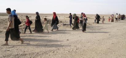 """36 رهينة ازيدية، تم تخليصم من أيدي """"داعش"""" في العراق"""