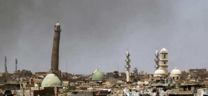 """""""داعش"""" يفجر المسجد الذي اعلن منه دولته في الموصل"""