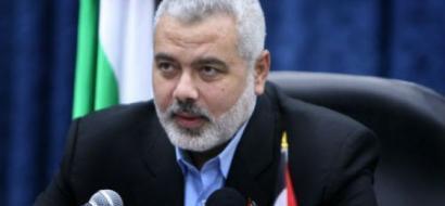 هنية لرئيس البرلمان الأردني: نرفض المساس بدوركم في القدس