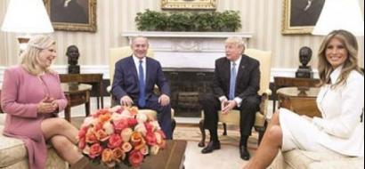 استياء إسرائيلى من تعري زوجة نتنياهو أمام ترامب