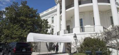 تسلل إلى حديقة البيت الأبيض ولم يره أحدا
