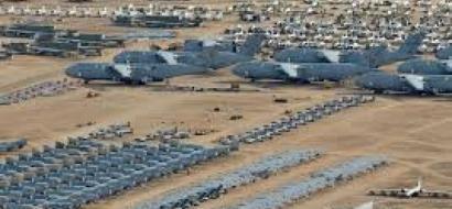 بالفيديو .. أكبر مقبرة للطائرات الحربية في العالم