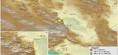 زلزالان قويان يهزان جنوب شرق إيران
