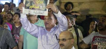 """بعد تصديق السيسي على """"تيران وصنافير"""".. معارضون يدعون للتظاهر في العيد"""