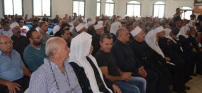 تأبين القائد السوري عصام زهر الدين في بلدة بيت جن في الجليل