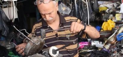 """خاص لـ""""وطن"""" بالفيديو .. خشخوش يبقي """"بوابير"""" الكاز مشتعلة في بيوت نابلس"""