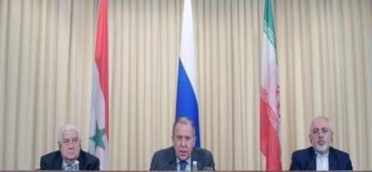 روسيا وايران وسوريا: الضربة الامريكية عدوانا وانتهاكا للقانون الدولي