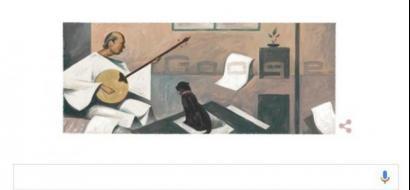 """""""غوغل"""" يحتفي بالفنان التشكيلي المصري بيكار"""
