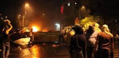 إصابات بالاختناق بمواجهات مع الاحتلال في قلقيلية